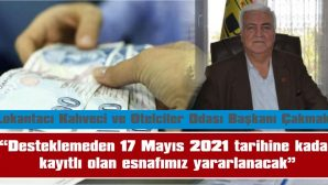 """""""BAŞVURALAR E-DEVLET ÜZERİNDEN YAPILACAK"""""""