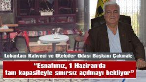 """""""BELEDİYEMİZDEN BU KRİZ DÖNEMİNDE DESTEK BEKLİYORUZ"""""""