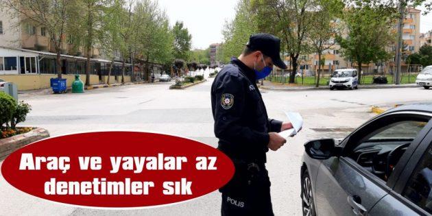 İKAMETGAHLARINDAN UZAK YERDE BULUNANLARA CEZA KESİLDİ