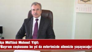 """BAYRAM NAMAZI KEŞAN'DA SAAT 06.32'DE KILINACAK"""