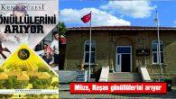 """""""GÖNÜLLÜ MÜZE DOSTU"""" BAŞVURULARI BAŞLIYOR"""