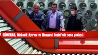 GÜNEKAB, MEKANİK AYIRMA VE KOMPOST TESİSİ'NDE SONA YAKLAŞTI.