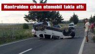 MECİDİYE YOLUNDA TRAFİK KAZASI