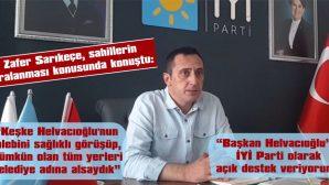"""""""ÇEVRECİLİK KONUSUNDA KİMSEDEN DERS ALMA NİYETİNDE DEĞİLİZ"""""""
