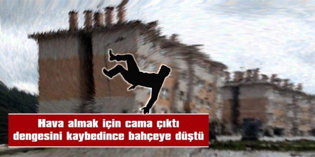 BACAĞI KIRILAN ADAM, HASTANEYE KALDIRILDI