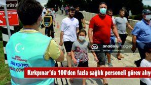 SARAYİÇİ'NDE 100'DEN FAZLA SAĞLIK PERSONELİ GÖREV ALIYOR