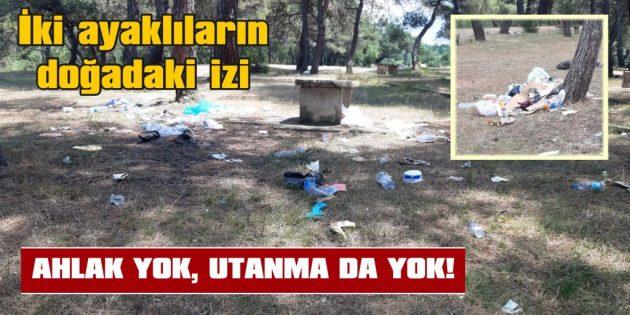 """""""HERKES BIRAKMIŞ"""" DEDİ VE O DA ÇÖPÜNÜ BIRAKTI!"""
