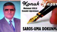 SAROS-UMA DOKUNMA