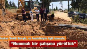 """""""ARIZA NEDENİYLE KEŞAN HALKINDAN ÖZÜR DİLERİZ"""""""