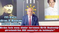 """""""İKİ MAAŞLI SULAMA BİRLİĞİ BAŞKANLARI…"""""""