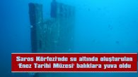 'ENEZ TARİHİ MÜZESİ' BALIKLARA YUVA OLDU