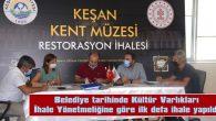 KENT MÜZESİ'NİN RESTORASYON İHALESİ YAPILDI