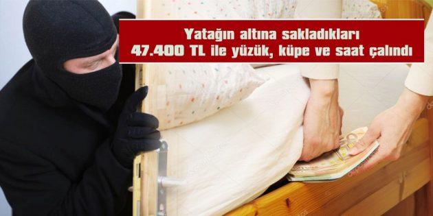 HIRSIZLAR, YUKARI ZAFERİYE MAHALLESİ'NE DADANDI