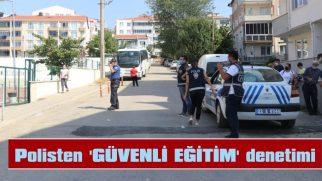 POLİS, OKUL ÇEVRELERİNDE KUŞ UÇURTMADI