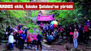 SARDOS EKİBİ, İSKOKO ŞELALESİ'NE YÜRÜDÜ
