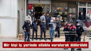 ÇEVREDEKİ VATANDAŞLARA YAKALANAN ZANLI, POLİSE TESLİM EDİLDİ