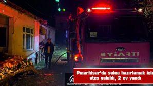 EV KULLANILMAZ HALE GELDİ